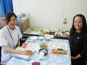 病棟担当の栄養士の活躍