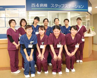 西4階病棟にフレッシュな新しい仲間が加わりました