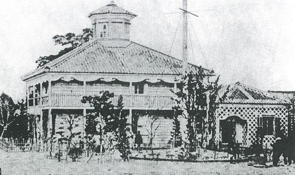 明治9年開院時の公立静岡病院