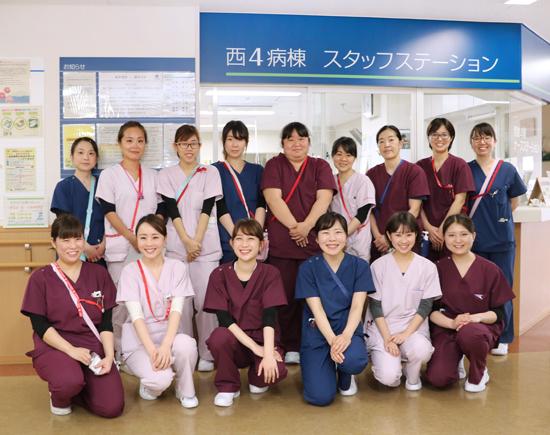 西4階病棟にも新たなスタッフが加わりました