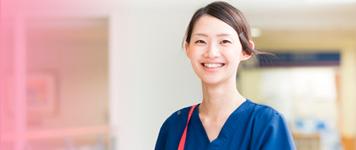 看護師、助産師、パートタイマー医療補助員を募集しています。
