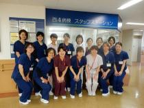 西4階病棟に新しいメンバーが加わりました